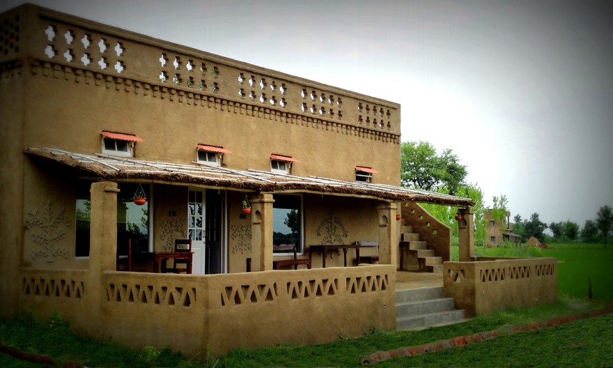 Indian village house design images for Village home designs