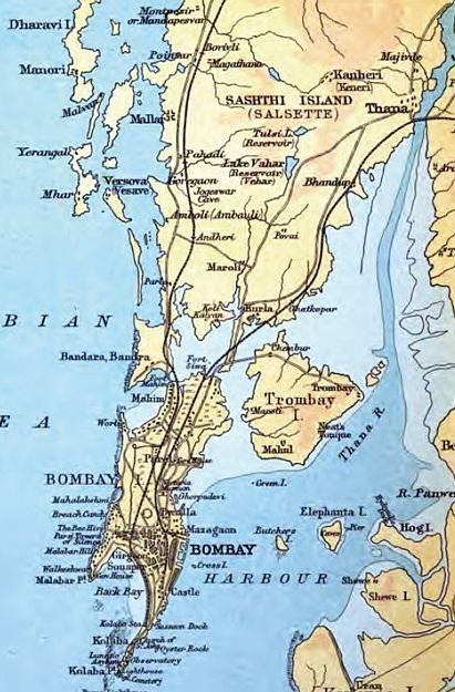 The Seven Islands of Bombay