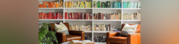 When a simple bookshelf just won't do! Storage ideas for book lovers