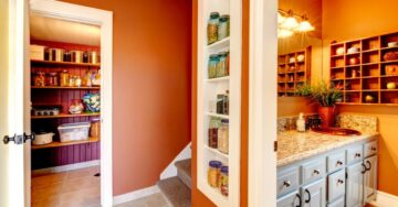 Simple solutions to create storage space at home