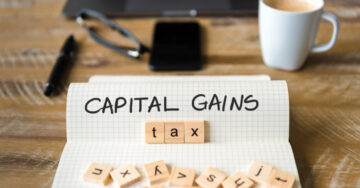 Capital gains computation for encroached/litigated properties