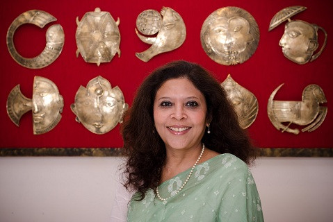 An artistic space that celebrates traditional arts and crafts Designer Shibani Jain's home