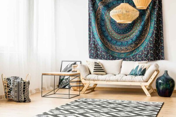 DIY tips: How to use old saris to make a stunning new wall frame